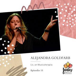 Ep. 015 ¿Qué papel cumple la música en nuestra vida? Con Alejandra Goldfarb