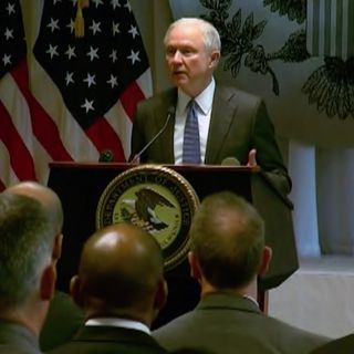 Attorney General Sessions Calls Out Gangs
