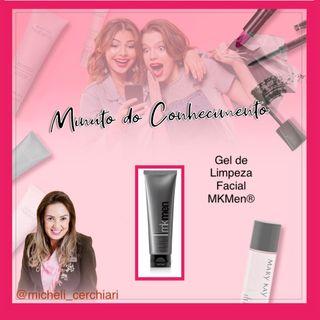 Gel de Limpeza Facial MKMen®