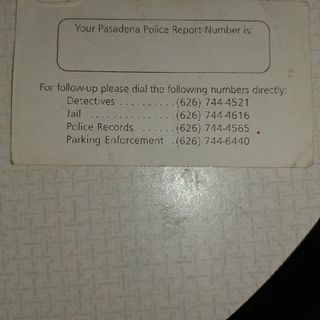 The Second Best Way to Avoid a Parking Ticket!