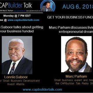 CAPBuilder Talk  - Getting Your Business Funded