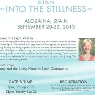 """Into the Stillness"" retreat, session 1"