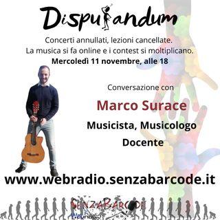 Marco Surace. Musicista, Musicologo e docente al tempo della pandemia