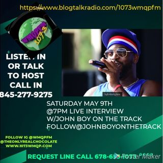 107.3 WMQP FM Live Interview with Comedian DooDoo Brown and JohnBoy on The Track