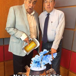 Para que no la compre tibia, aquí se la calentamos, Espacio Deportivo de la Tarde 25 de Abril 2019