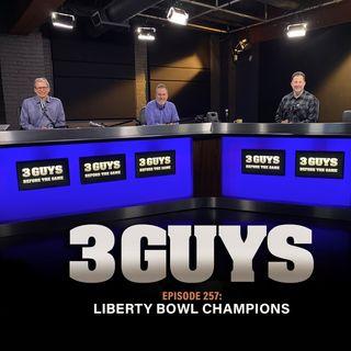 Liberty Bowl Champions with Tony Caridi, Brad Howe and Hoppy Kercheval