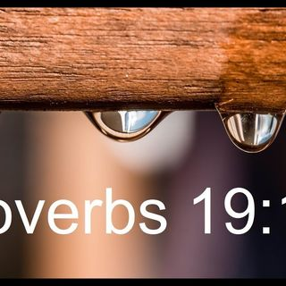 Proverbs 19:13 Nagging Thoughts