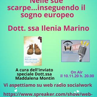 Ilenia Marino. Nelle sue scarpe...inseguendo il sogno europeo.