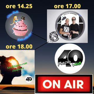 """Radio 40 """"Forty Prime Time """" MARTEDI' POM. 16/02/2021"""