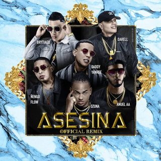 Asesina (Extended Full Remix) - Brytiago Ft. Darell, Daddy Yankee, Anuel AA, Ñengo Flow Y Ozuna