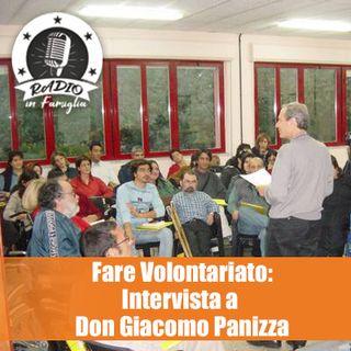 Fare Volontariato: Intervista a Don Giacomo Panizza