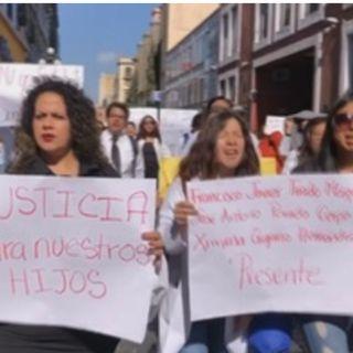 Miles marchan en Puebla contra la inseguridad