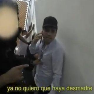 Presenta Sedena video sobre detención de Ovidio Guzmán