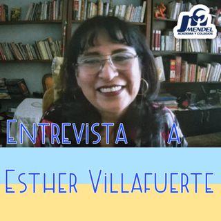 Entrevista a Esther Villafuerte