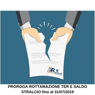 SCADENZA PACE FISCALE PROROGATA fino al 31/07/2019