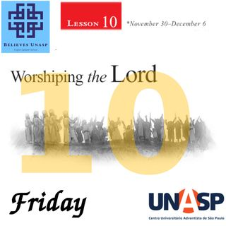 Sabbath School - Dec.6 Friday