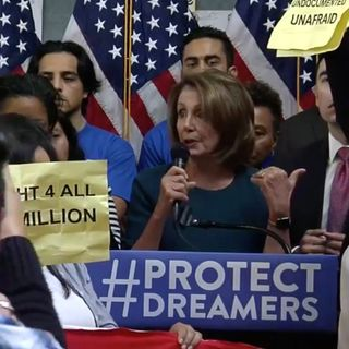 WDShow 9-18 Pelosi Served A Hot DACA Mess Sandwich With A Side of Fear