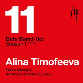 Alina Timofeeva : KPMG UK : Senior Manager, Advanced Analytics & Cloud // Bedrock @ LAPIPA_Studios