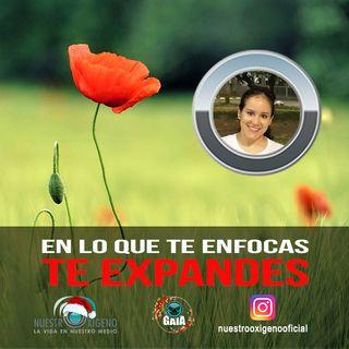 NUESTRO OXÍGENO en lo que te enfocas  te expandes - Tatiana Leon