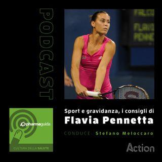 Sport e gravidanza, i consigli di Flavia Pennetta