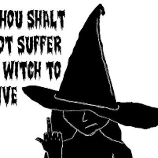 """WWJD  WITCHES WILL JUSTLY DISCERN (NOT """"WHAT WOULD JESUS DO"""" BUT"""