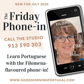 Portugal news, weather & the Filomena-flavoured Friday phone-in