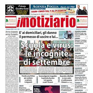 Prima Pagina - Il Notiziario del 6 agosto 2020