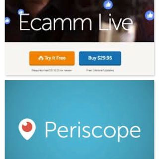 asw: #FacebookLive and #Periscope at the same time - audio version