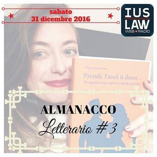ALMANACCO LETTERARIO #3 – I MIGLIORI LIBRI DEL 2016