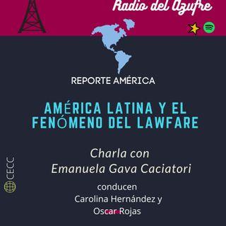 Reporte América con Emanuela Gava Caciatori