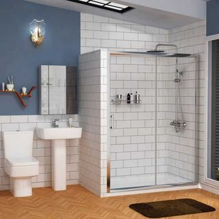 Showers Enclosures and Doors at the Royal Bathrooms the UK