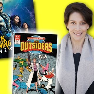 #263: Actress Jennifer Riker on her villainous role as Dr. Helga Jace on Black Lightning