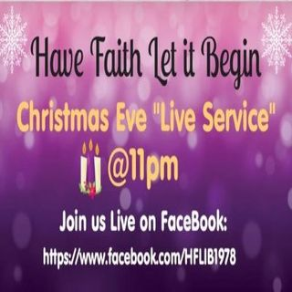 Christmas Eve Live Broadcast!