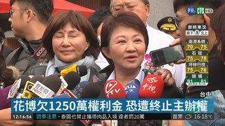 12:48 台中花博積欠千萬 盧秀燕責推前朝 ( 2019-02-01 )