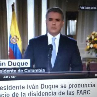 RADAR. Presidente Iván DUQUE -1- Colombia no acepta amenazas. LuisE