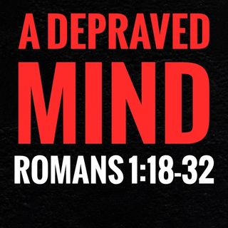What does it mean that God gave them over in Romans 1:24–28?