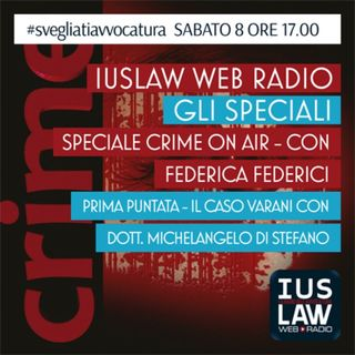 CRIME ON AIR - Sabato, 08 Aprile 2017
