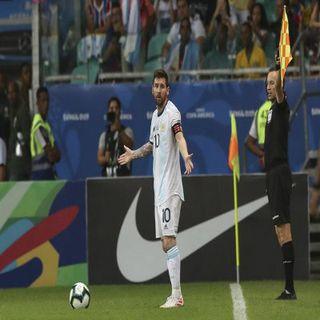 Copa America - Messi salva l'Argentina