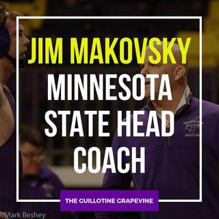 Minnesota State head coach Jim Makovsky - GG54
