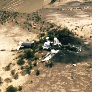 Localizan Jet siniestrado en Monclova