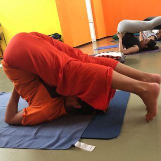 Pratica di yoga in ciociaria