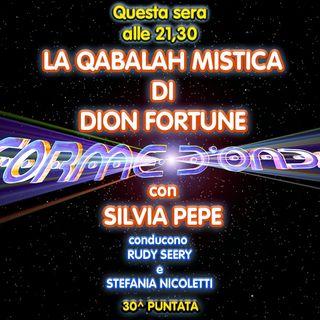 "Forme d'Onda - Silvia Pepe - ""La Qabalah Mistica"" di Dion Fortune - 30^ puntata (04/06/2020)"