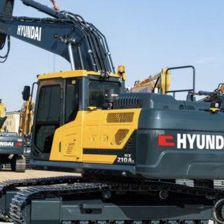 Ascolta la news: Hyundai Construction Equipment svela il nuovo escavatore HX210AL da 22 ton