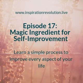 Episode 17 - The Magic Ingredient for Self Improvement