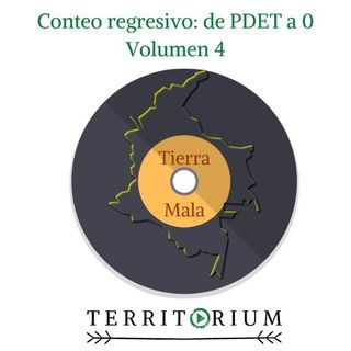 Conteo regresivo: de PDET a 0 volumen 4