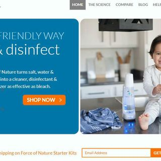 Force Of Nature Offers 'Family-Friendly' Cleaning