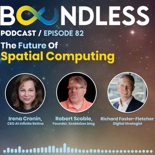 EP82: Irena Cronin, CEO at Infinite Retina. Robert Scoble, Founder, Scobleizer.blog: The future of spatial computing