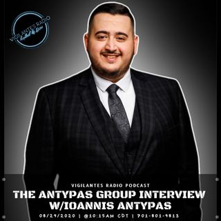 The Antypas Group Interview w/Ioannis Antypas.