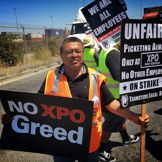 Teamsters Striking to Fight Corporate Wage Theft