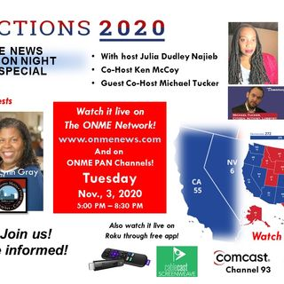 ONR-2020 Presidential Elections: Part 8 - Voting Center Locations and Elections News Stories